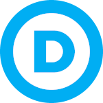 150px US Democratic Party Logo
